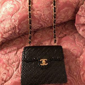 c658be4d947f CHANEL Bags - Chanel Classic Mini Flap Rare 1980 s Wicker Bag